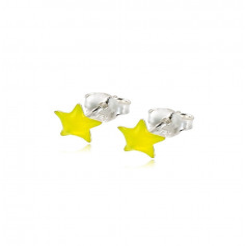 Orecchini bimba con stella gialla Le Meraviglie Orecchini Kids ORAGFI04