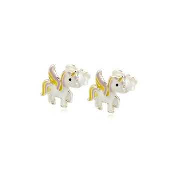 Orecchini bimba con unicorno Le Meraviglie Orecchini Kids ORAGFI05