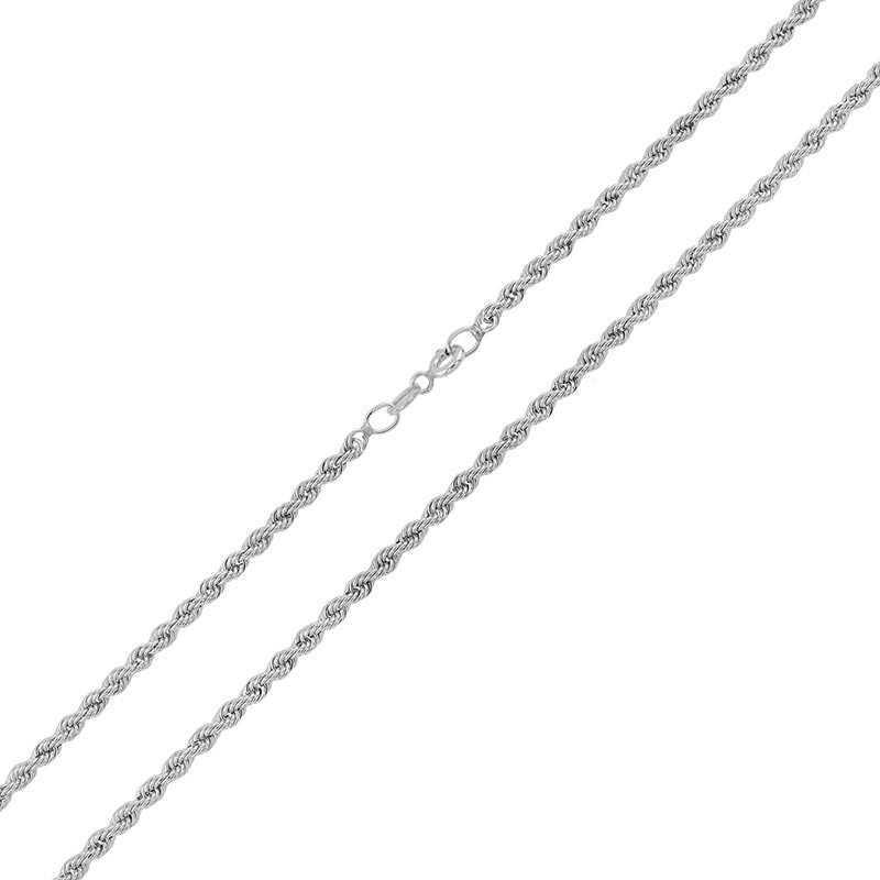 Catenina Funetta in oro bianco 50cm Zoppi Gioielli jewelry Catene e catenine CTF160AUB50