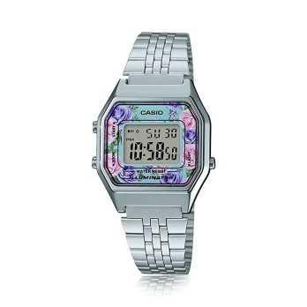 Casio donna orologio digitale fiori Casio Orologi Digitali donna LA-670WA-4DF