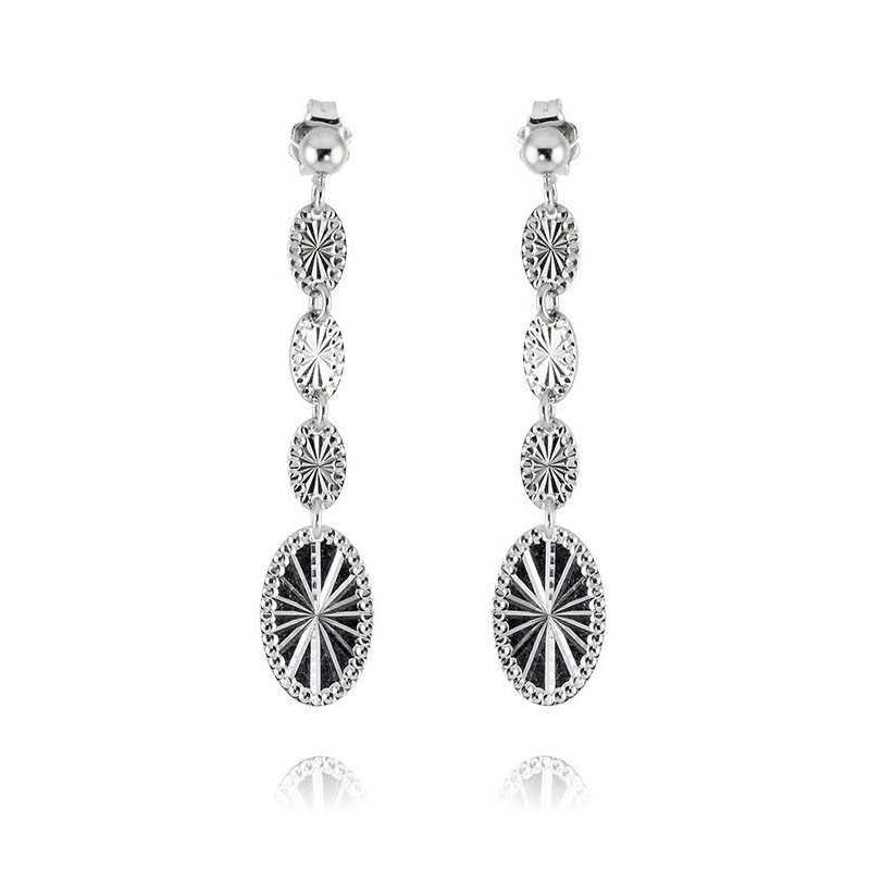 Orecchini pendenti in argento Zoppi Gioielli bijoux Orecchini Donna ITOR28AG