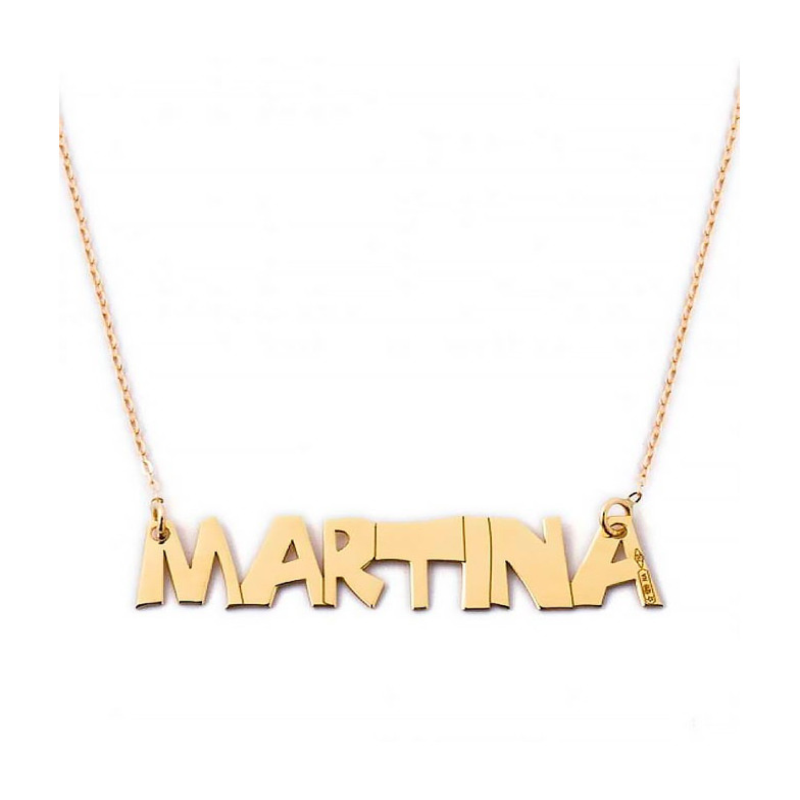 Collana con nome in argento Mi racconto gioielli Collane MF-AG1PE9