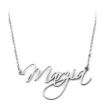 Collana con nome in argento Mi racconto gioielli Collane MF-AG2PE11