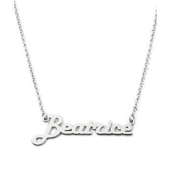 Collana con nome in argento Mi racconto gioielli Collane MF-AG1PE13