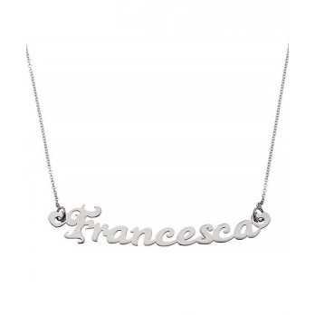 Collana in argento con nome Mi racconto gioielli Collane MF-AG2NC02