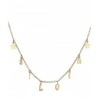 Collana personalizzata con nome e stelle Mi racconto gioielli Collane MF-AG4PE71