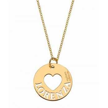 Collana personalizzabile con cuore Mi racconto gioielli Collane MF-AG2MD03