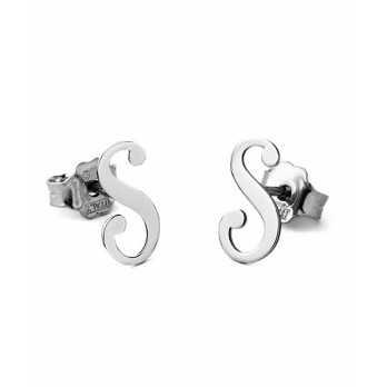 Orecchini con iniziali in argento Mi racconto gioielli Home MF-AG1OR5