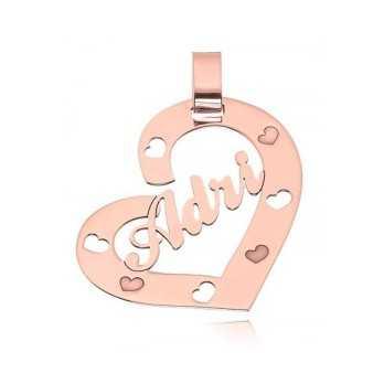 Ciondolo a cuore con nome personalizzato Mi racconto gioielli Ciondoli MF-AG5AD01