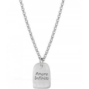 Ciondolo in argento personalizzabile Mi racconto gioielli Home MF-AG3PG1