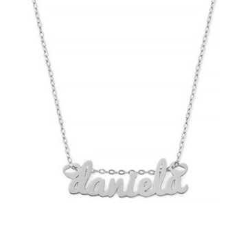 Collana con nome in argento