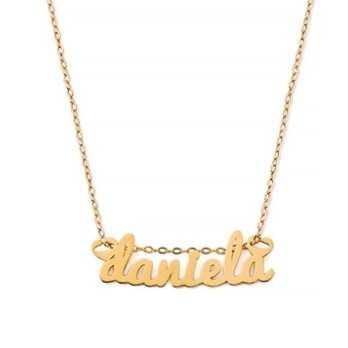 Collana con nome in oro Mi racconto gioielli Collane MF-16OPE20
