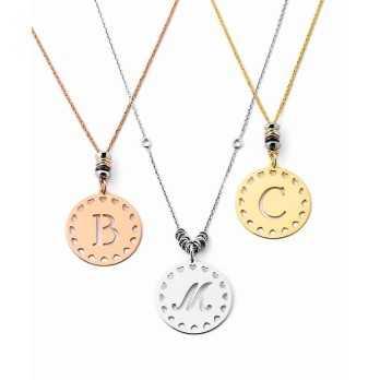 collana con iniziale in argento Mi racconto gioielli Collane MF-AG4PE40