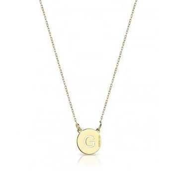 Collana con ciondolo personalizzato con iniziale Mi racconto gioielli Collane MF-AG1PE59