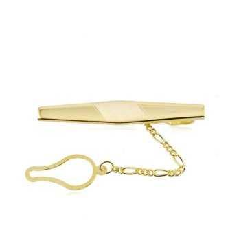 Fermacravatta in argento dorato Alexia Gioielli Accessori Uomo FC36AGO