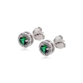 Orecchini con smeraldo e swarovski Alexia Gioielli Orecchini Donna OR10AGV