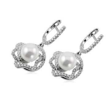 Orecchini con perla e pietre Zoppi Gioielli bijoux Orecchini Donna ITOR635AG