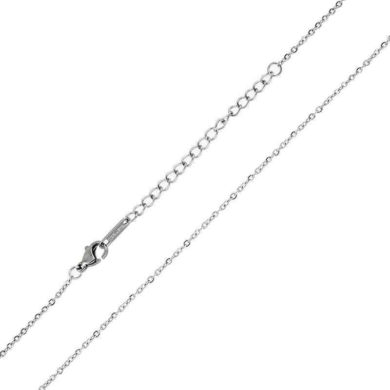 Catenina a rolò 50 cm in acciaio Zoppi Gioielli bijoux Catene e catenine CL30AC50