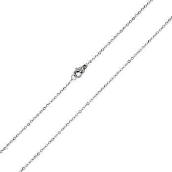 Catenina a rolò 45cm in acciaio Zoppi Gioielli bijoux Catene e catenine CL30AC45