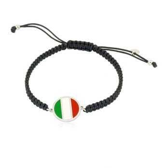 Bracciale in argento Italia Alexia Gioielli Bracciali Uomo AGBR11ITA