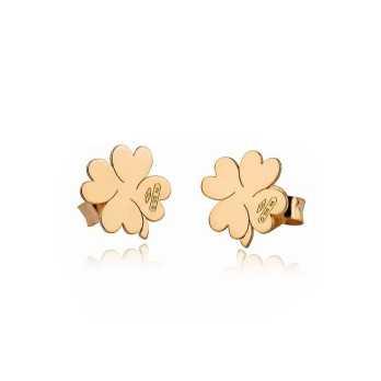 Orecchini in oro a quadrifoglio My Charm Orecchini MF-OOM4