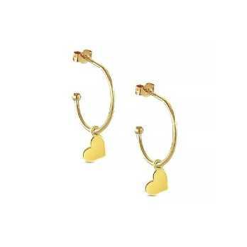 Orecchini in oro con charm a cuore My Charm Orecchini MF-OOG7