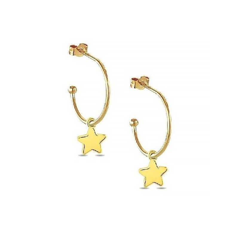 Orecchini in oro con charm a stella My Charm Orecchini MF-OOG3
