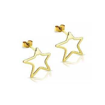 Orecchini in oro a forma di stelline My Charm Orecchini MF-OOC4S