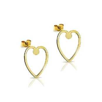 Orecchini in oro a forma di cuore My Charm Orecchini MF-OOC4