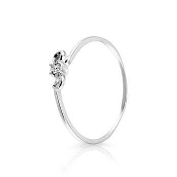 Anello solitario con diamante da 0,03 Ct. Prestige Gold Anelli oro diamanti KA48
