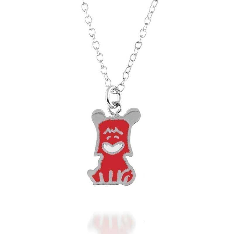 Collana Hello Spank - rosso (L) Osa jewels Promozioni C-10070-04
