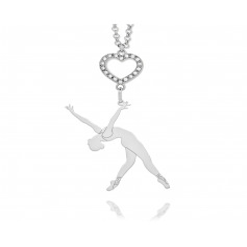 Promozioni Collana ballerina in argento e pietre Nanì argenti