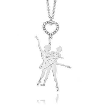 Collana ballerini in argento e pietre Nanì argenti Promozioni CN10B/CL