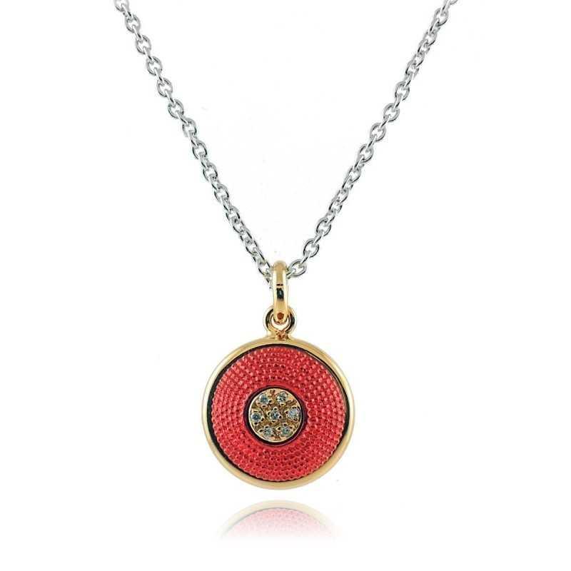 Collana puntoluce rossoOsa jewels Promozioni 20,00€ P9806-01