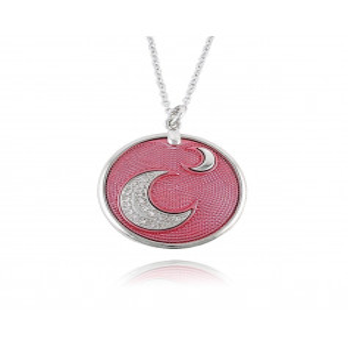 Collana feeling rosa Osa jewels Promozioni F9801-02