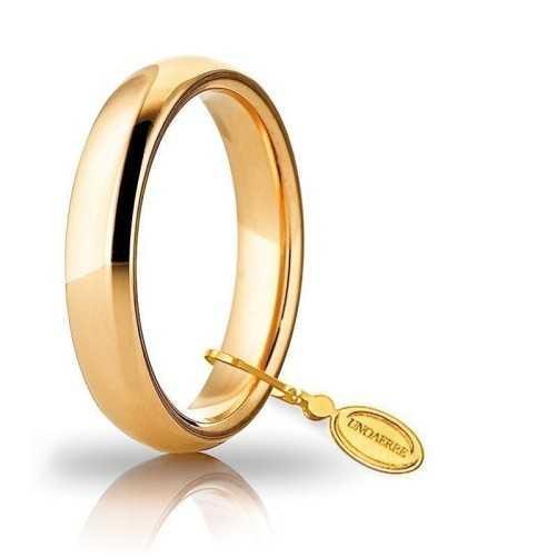 Fede comoda unoaerre 40AFC1G Unoaerre Italian jewellery Fedi Comode 40AFC1G