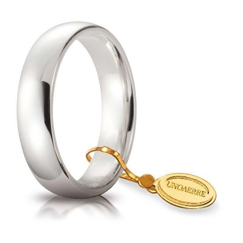 Fede comoda unoaerre 50AFC1B Unoaerre Italian jewellery Fedi Comode 50AFC1B