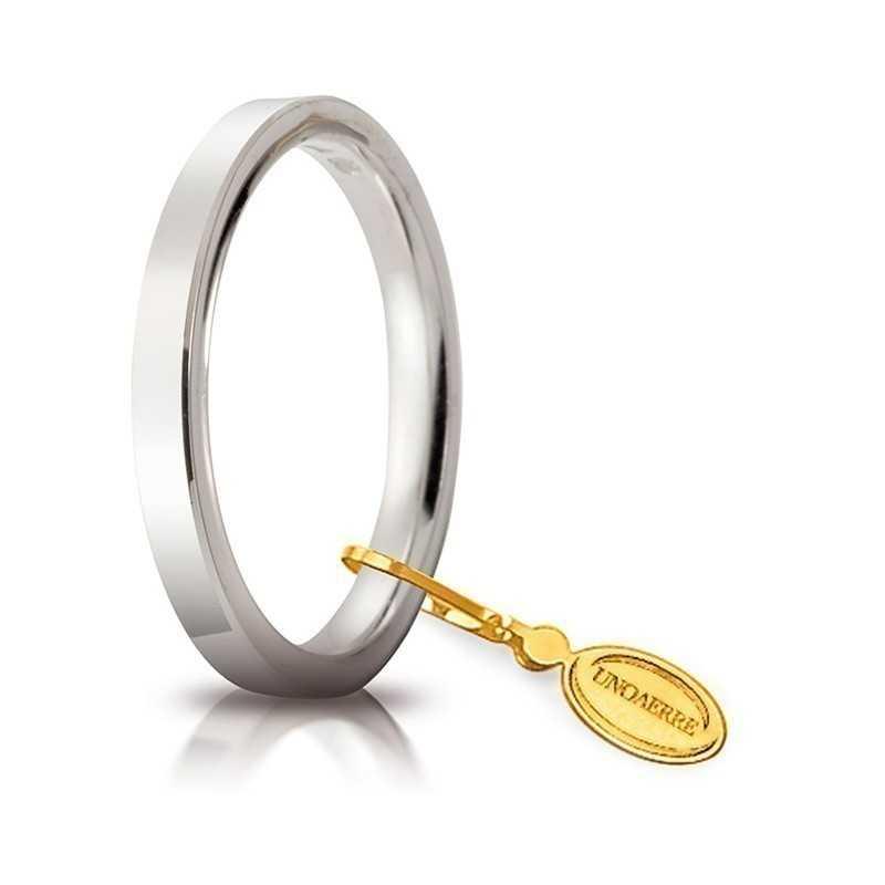 Fede Cerchi di Luce comoda unoaerre 25AFC2B Unoaerre Italian jewellery Fedi cerchi di luce 25AFC2B