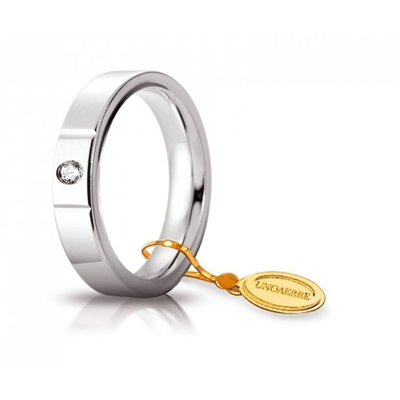 Fede Cerchi di Luce comoda unoaerre 35AFC2/001BUnoaerre Italian jewellery Fedi Anelli Nuziali 590,00€ 35AFC2/001B