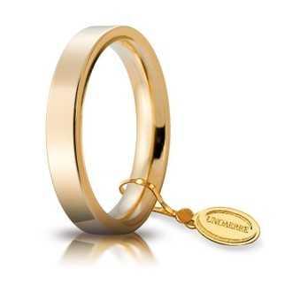 Fede Cerchi di Luce comoda unoaerre 35AFC2G Unoaerre Italian jewellery Fedi cerchi di luce 35AFC2G