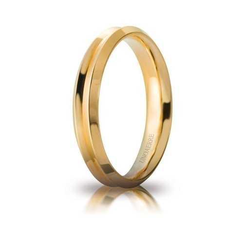 Fede Unoaerre Corona giallaUnoaerre Italian jewellery Fedi Anelli Nuziali 400,00€ 40AFC278G
