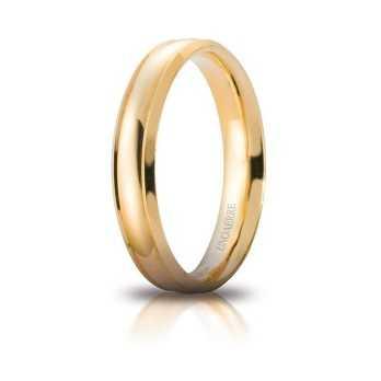 Fede Unoaerre Orion gialla Unoaerre Italian jewellery Fedi Brillanti Promesse 40AFC279G