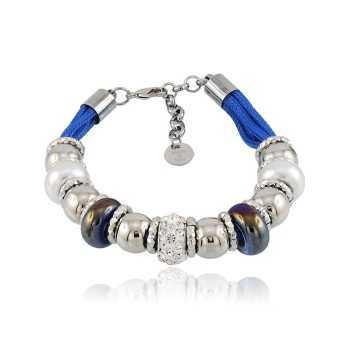 Bracciale Touch Me azzurro Zoppi Gioielli bijoux Promozioni TM-016BR