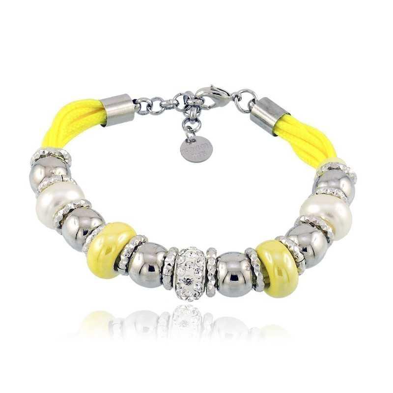 Bracciale Touch Me giallo Zoppi Gioielli bijoux Promozioni TM-020BR
