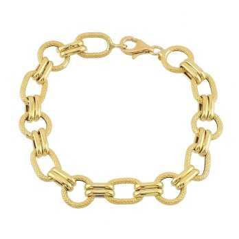 Bracciali Donna Bracciale a catena in oro 18k Zoppi Gioielli