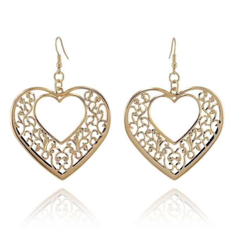 Orecchini Donna Orecchini pendenti a cuore I Think Jewels