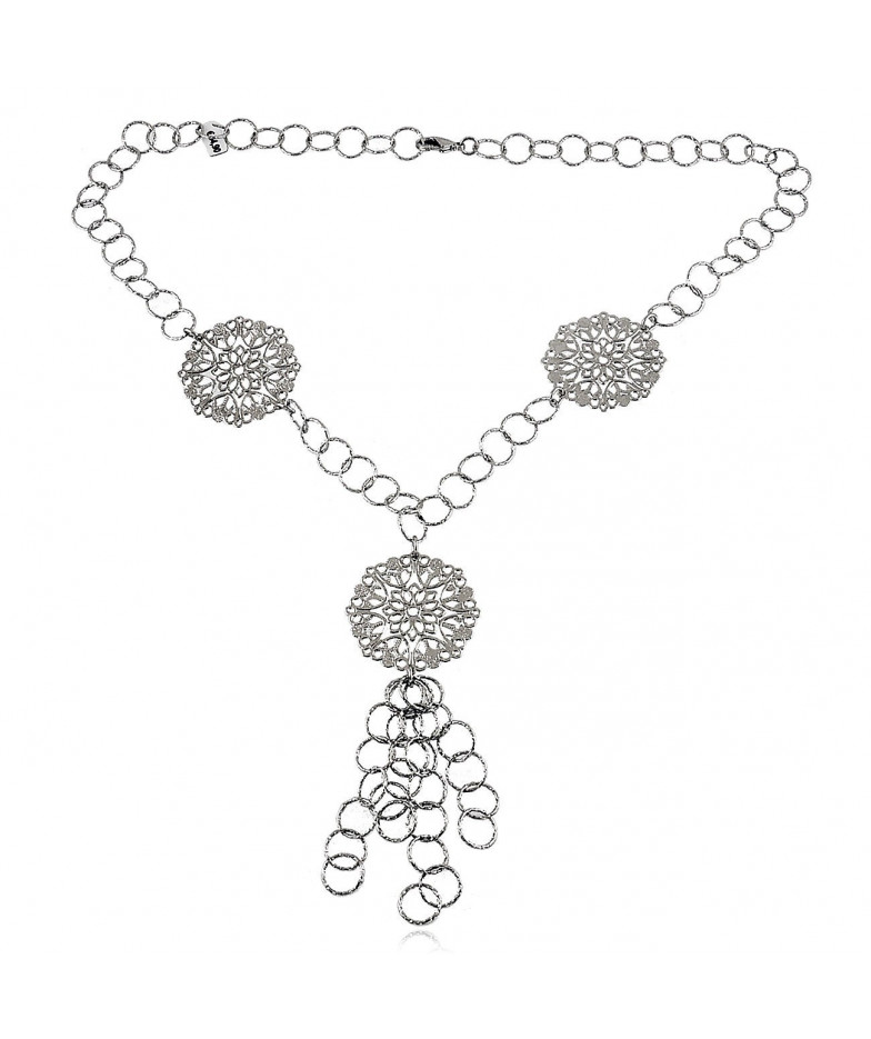 Collana a catena charms I Think Jewels Collane Donna ITJ-CL108