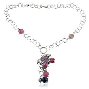 Collana a catena charms e pietre I Think Jewels Collane Donna ITJ-CL109