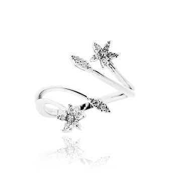 Anello donna in argento e zirconi Ct. 0,10 Zoppi Gioielli bijoux Anelli Donna CM057AG