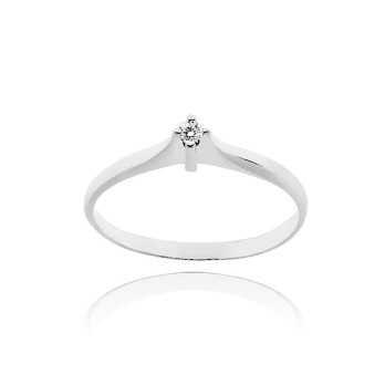 Anello solitario in argento con zircone Ct. 0,03Zoppi Gioielli - Multibrand Anelli Donna 25,00€ CM002AG